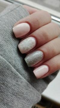winter nails on Tumblr