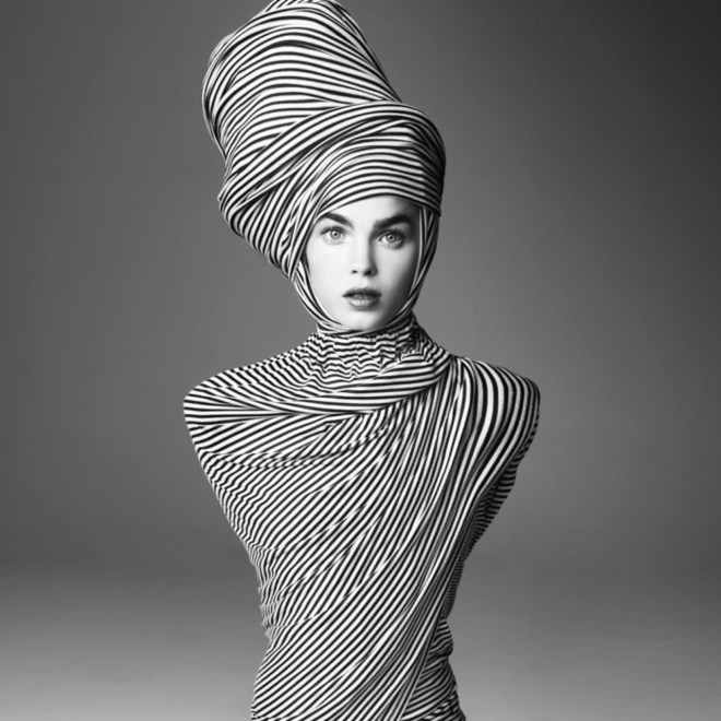 knitGrandeur: Enveloped in Stripes