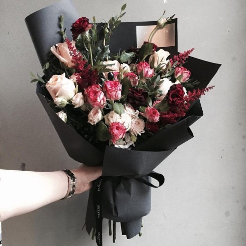 flower bouquet on Tumblr