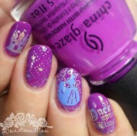 cinderella nails | Tumblr