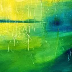 Drippy Green galaxy #artshow #abstract #painting #green #perthcreatives #perthartist #illustration #artworks #art