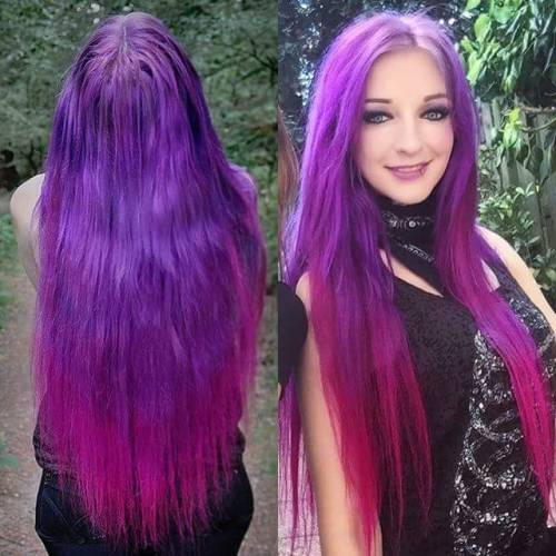 dyed hair on Tumblr