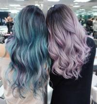 cotton candy colored hair | Tumblr