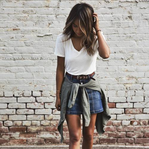 $16.34 Get her stylish denim skirt »here« !