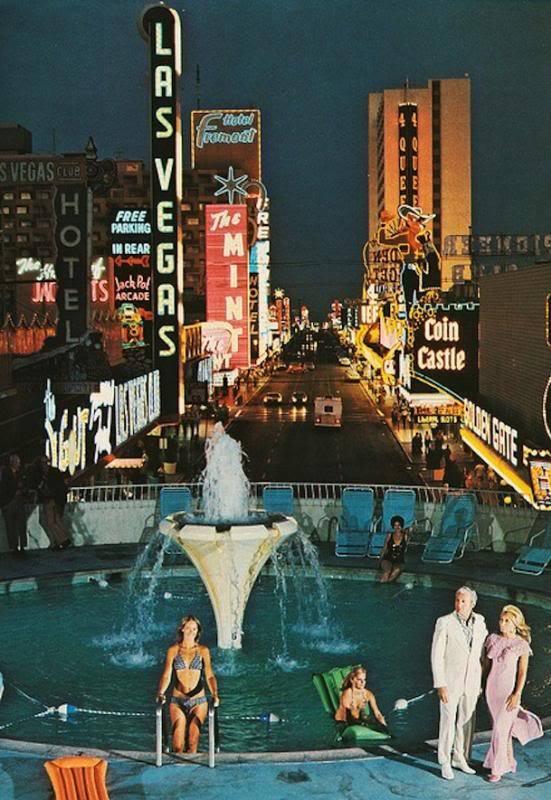 Fremont Street - Las Vegas, Nevada U.S.A. - 1971