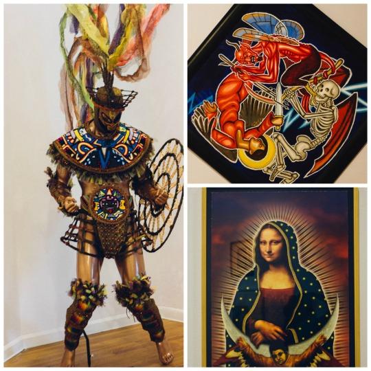 Mexi-Arte Museum in Austin, three days in Austin