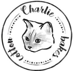 Projets de logos pour le salon de thé Charlie Bakes Cotton featuring Carlito El Magnifico!