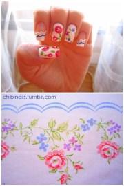 chibi nails hayleybee fabric