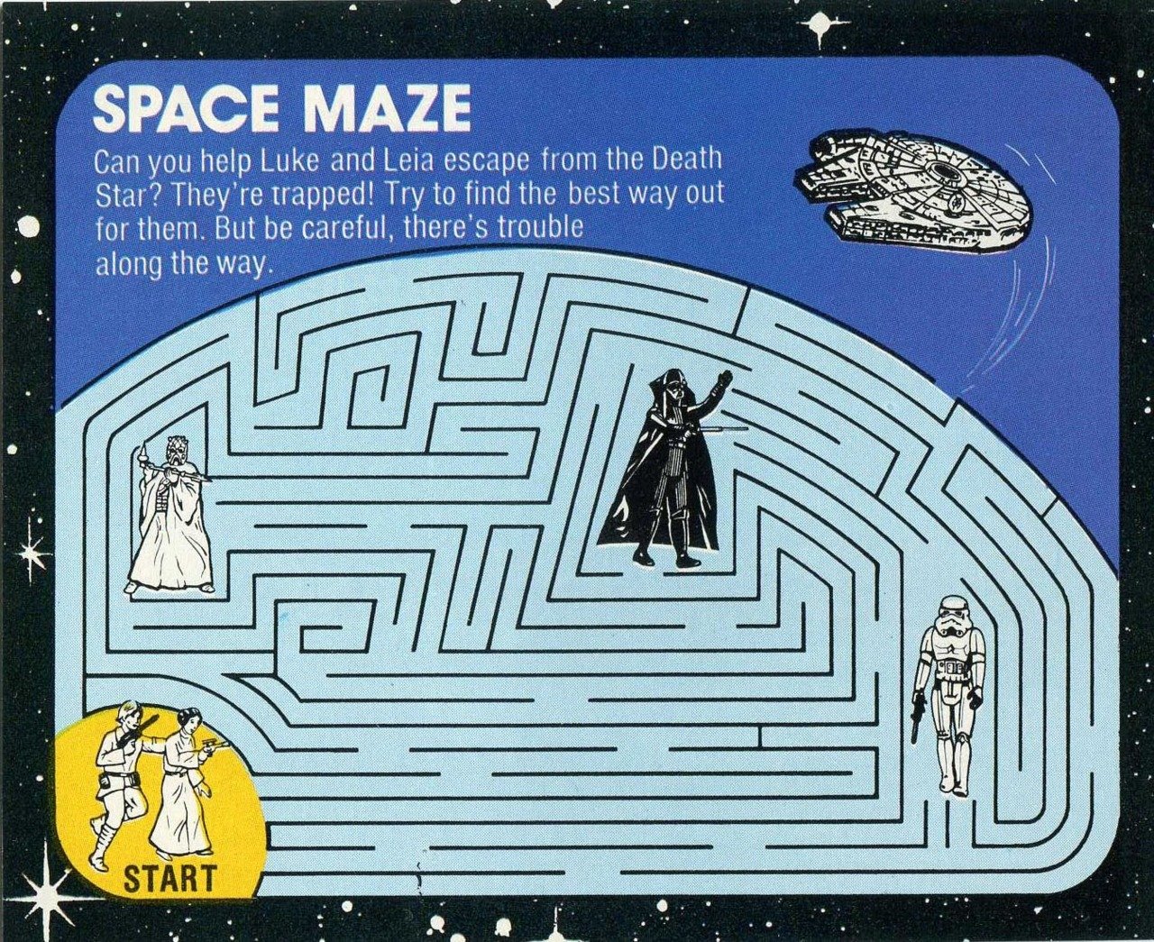 Retro Star Wars The Likelihood Of Luke And Leia Bumping