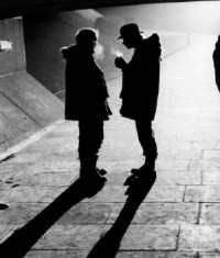 Stanley Kubrick & Malcolm McDowell on the set of A ...