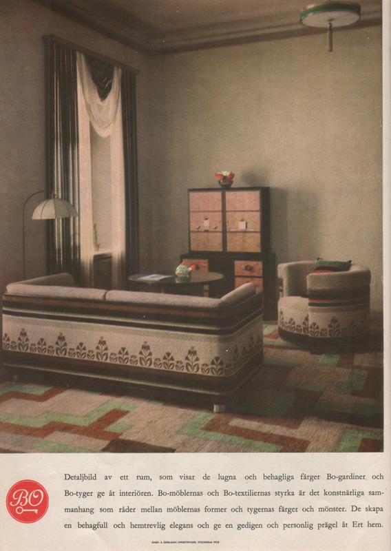1930s Interior Design Magazine Clipping via