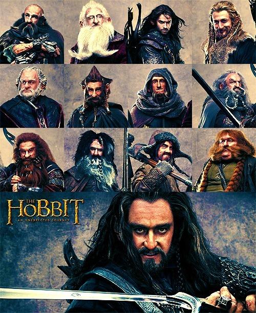 The Hobbit Dwarves of The Hobbit Dwalin Balin Kili