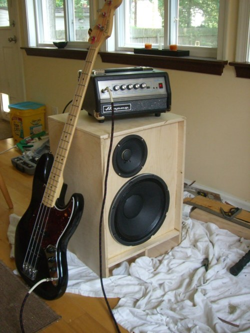 Platonic Fox  fEarful Bass Cabinet  Why you should build