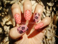 Vintage Rose Nails - JeeA Lee's Nail Art