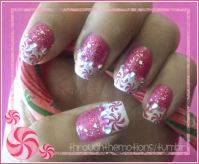peppermint nails | Tumblr