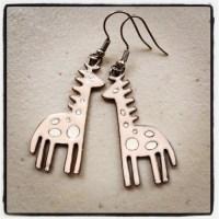 giraffe earrings on Tumblr