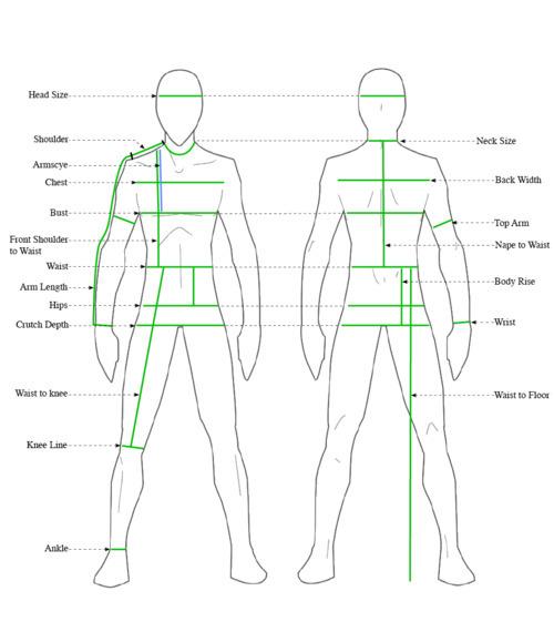 Volante Design — Measurement Guide