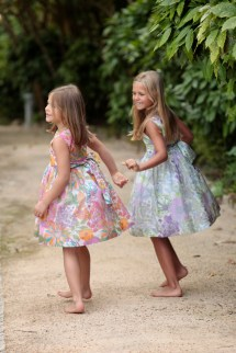 Barefoot Little Girls Dresses