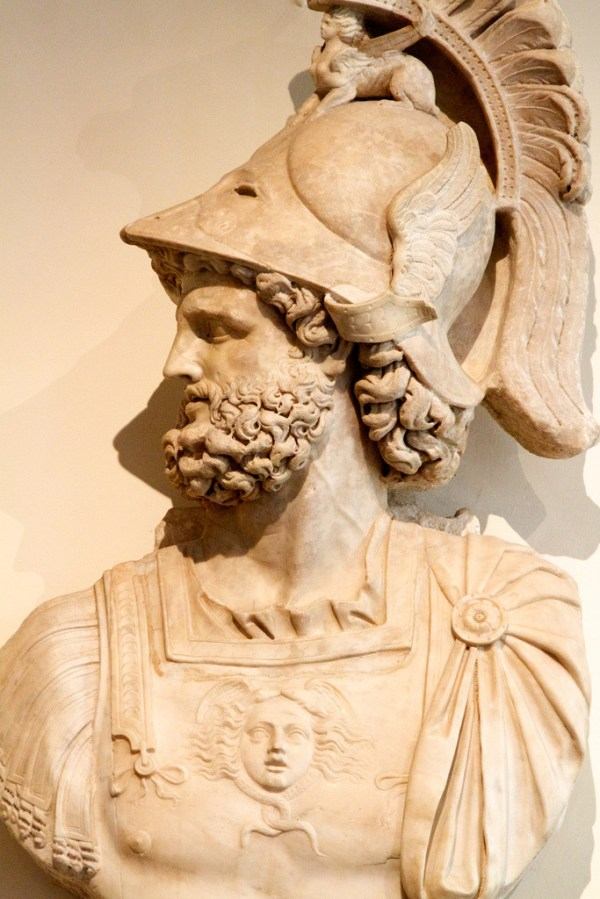My Ancient World Mars the god of war 2AD Greek god