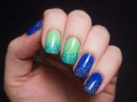 Neon Glitter Gradients Nail-venturous Lacquer ...