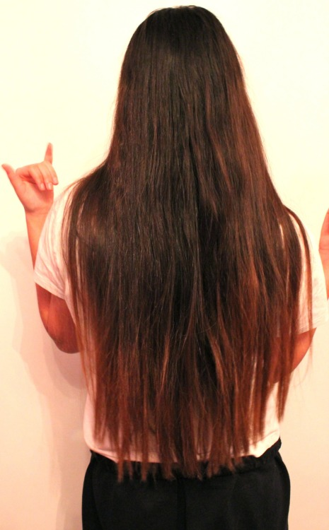 Dyed Tips On Tumblr