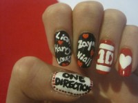 one direction nails on Tumblr