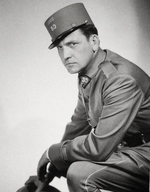 Fredric March in a publicity still for The Road To Glory