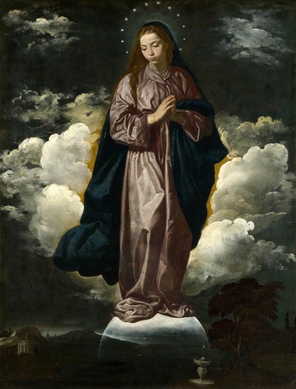 Virgin Mary Diego Velazquez