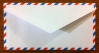 """Envelope Templates - Monarch-Size Airmail (7.5"""" x..."""