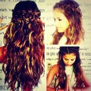 selena gomez hair