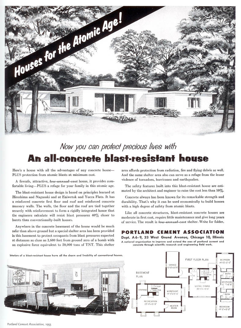 Portland Cement Association - published in Better Homes and Gardens - June 1955