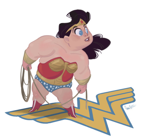 nomadsdraw:(via Wonder Woman by ~nomadsdraw on deviantART)Artist: Craig Harris