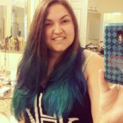 teal ombre