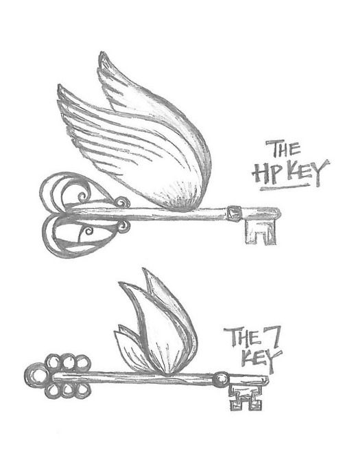 flying keys on Tumblr