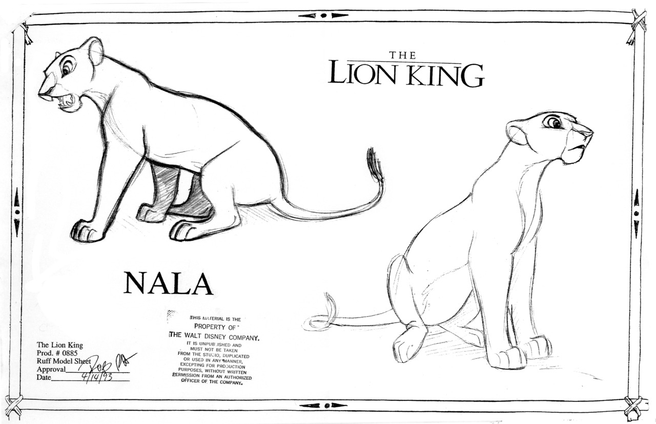 Ask The Ghost Host — penciltests: Model Sheets (Simba