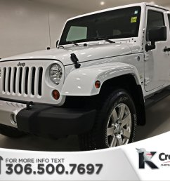 certified pre owned 2012 jeep wrangler unlimited sahara heated seats remote start [ 1600 x 1200 Pixel ]