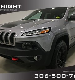 certified pre owned 2018 jeep cherokee trailhawk leather plus 4x4 sunroof navigation [ 1600 x 1200 Pixel ]