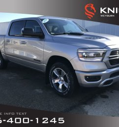 new 2019 ram 1500 sport crew cab heated seats heated steering wheel remote [ 1600 x 1200 Pixel ]