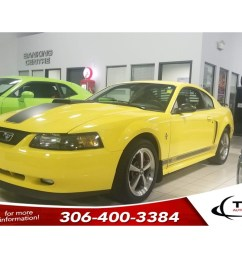 pre owned 2003 ford mustang mach 1 v8 5 spd manual leather alloys [ 1024 x 768 Pixel ]