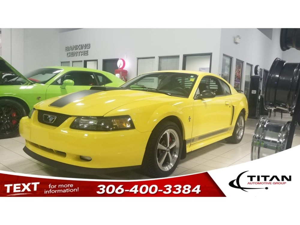 medium resolution of pre owned 2003 ford mustang mach 1 v8 5 spd manual leather alloys
