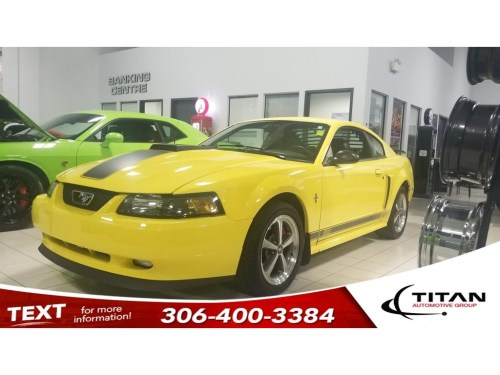 small resolution of pre owned 2003 ford mustang mach 1 v8 5 spd manual leather alloys