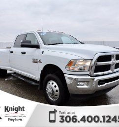 pre owned 2016 ram 3500 slt diesel dually heated seats remote start back up [ 1600 x 1278 Pixel ]