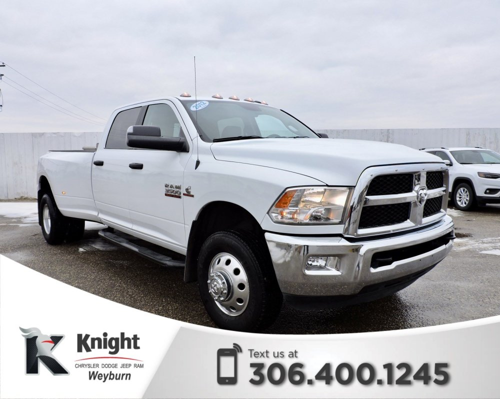 medium resolution of pre owned 2016 ram 3500 slt diesel dually heated seats remote start back up
