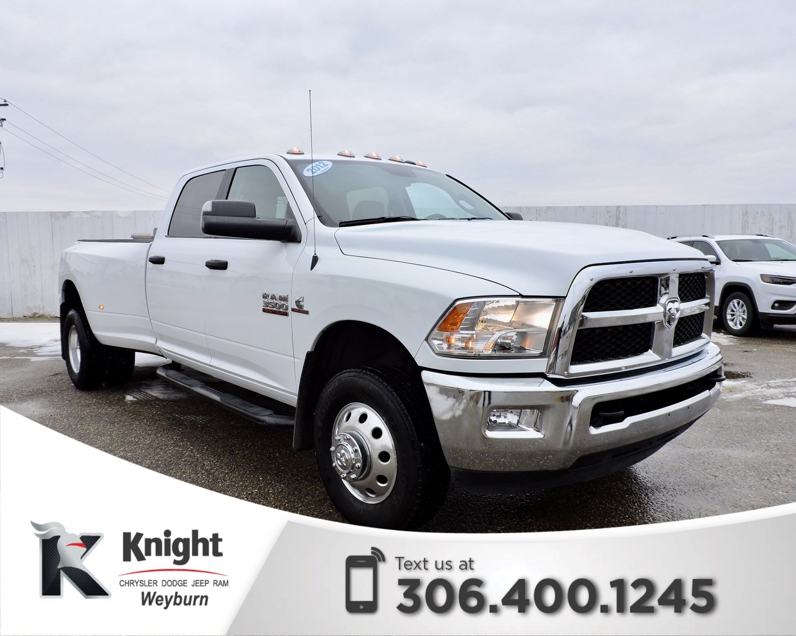hight resolution of pre owned 2016 ram 3500 slt diesel dually heated seats remote start back up