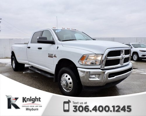 small resolution of pre owned 2016 ram 3500 slt diesel dually heated seats remote start back up