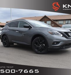 new 2018 nissan murano midnight edition leather moonroof navigation bose black [ 1600 x 1067 Pixel ]
