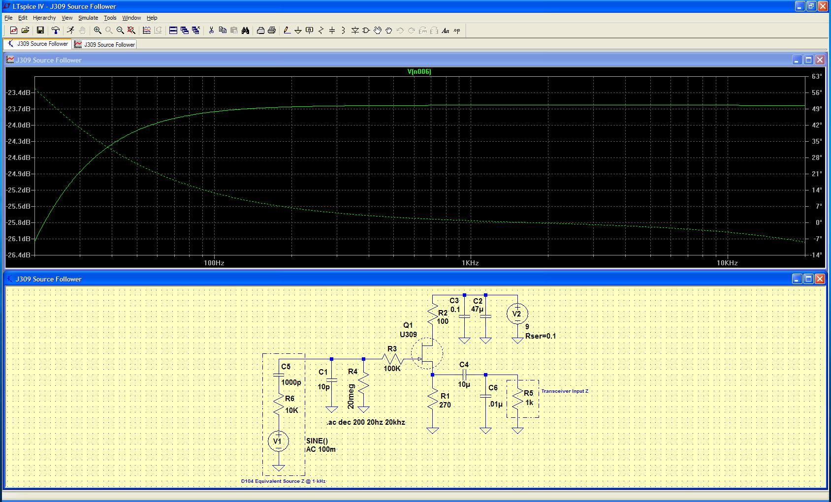 Phy2028 Spice Simulations Of Fet Circuits