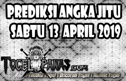Prediksi Angka Jitu Togel Sabtu 13 April 2019