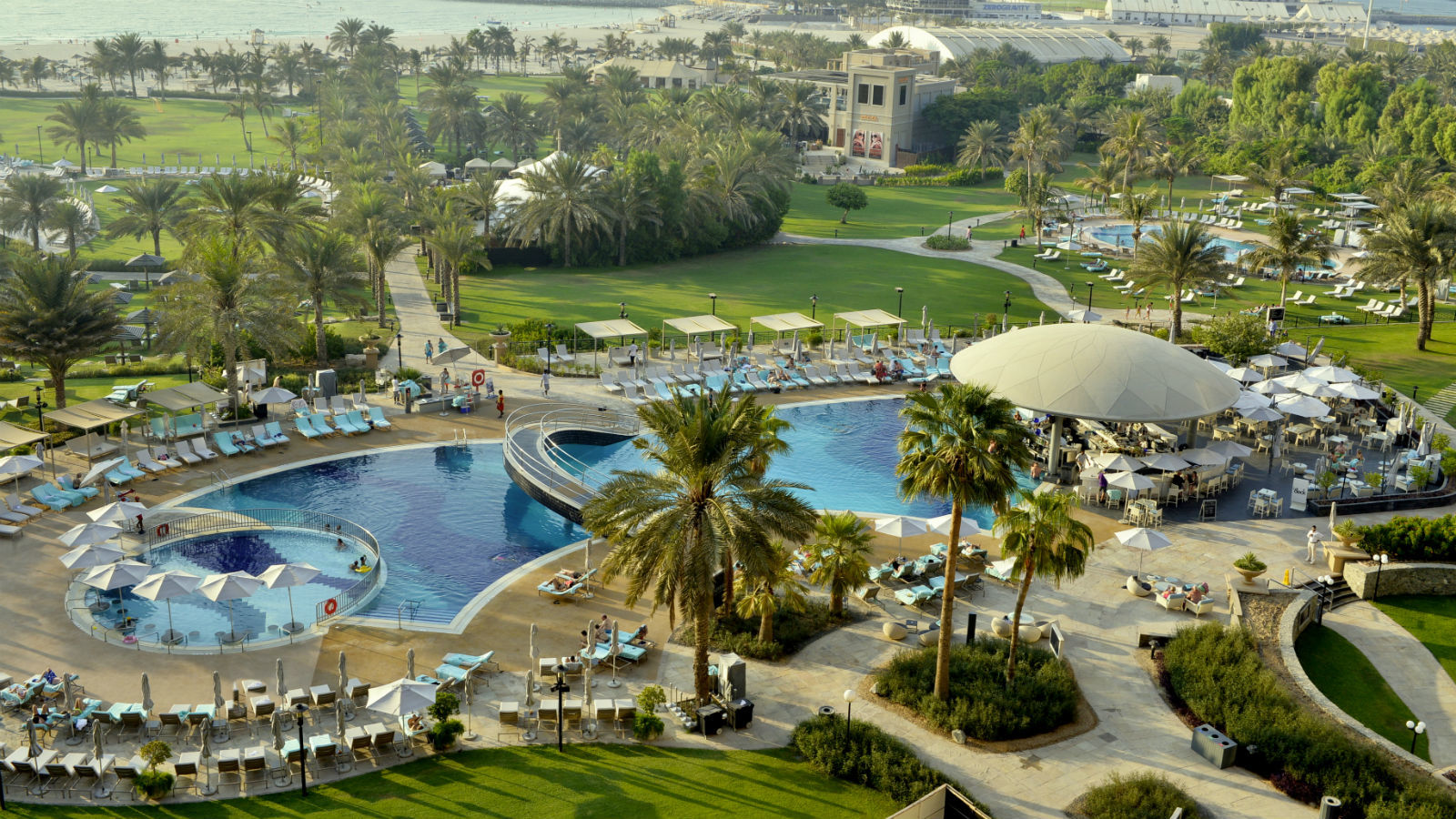 Pool And Beach Facility For Non Resident Guests  Le Royal