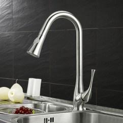 Faucet Kitchen Compact Kitchens Nz 304不锈钢水龙头厨房水槽冷热水龙头无铅抽拉洗菜盆龙头 Chinav100 水龙头厨房